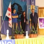 4 cerimonia premiazione Pres Comitato TN Scacchi Roberta De Nisi