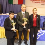9  1.WOMEN Gaprindashvili - 1. OPEN Cebalo - Organisator Cristina Pernici Rigo